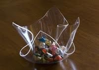 Lavorazione materie plastiche vaso porta oggetti in - Oggetti in plexiglass ...