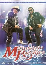 DVD - Milionário e José Rico Atravessando Gerações