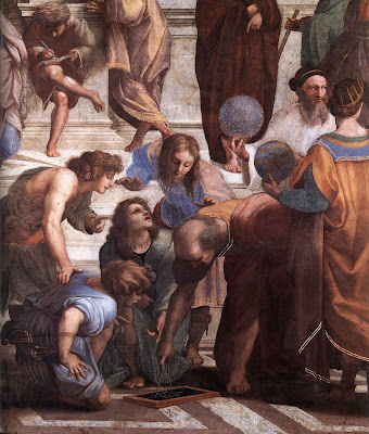 Raphael's School of Athens (detail) W. How are you?