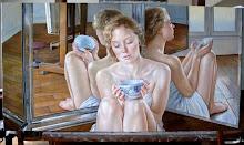 Francine Van Hove pintora de mujeres