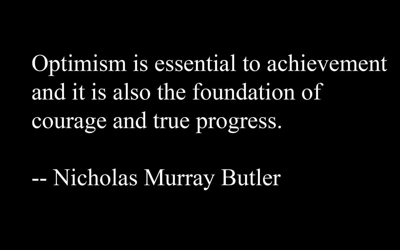 optimism quote with - photo #13