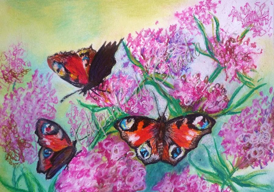 I dipinti di giada esperimenti pastelli ad olio for Dipinti ad olio fiori