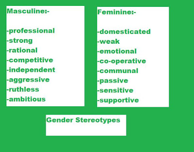 essays on gender stereotyping