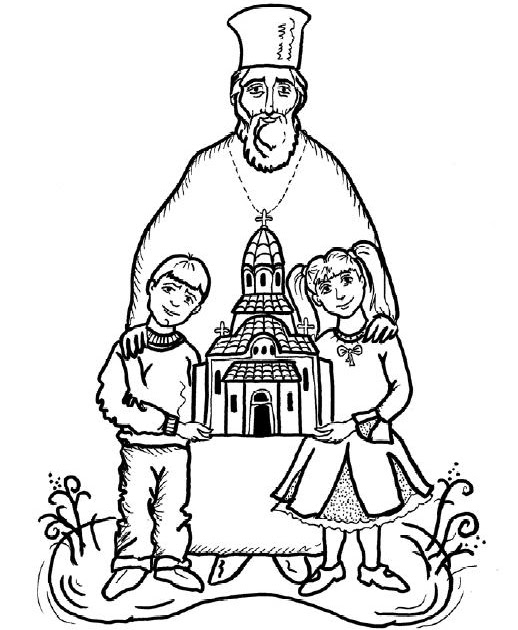 religious education coloring pages - photo#34