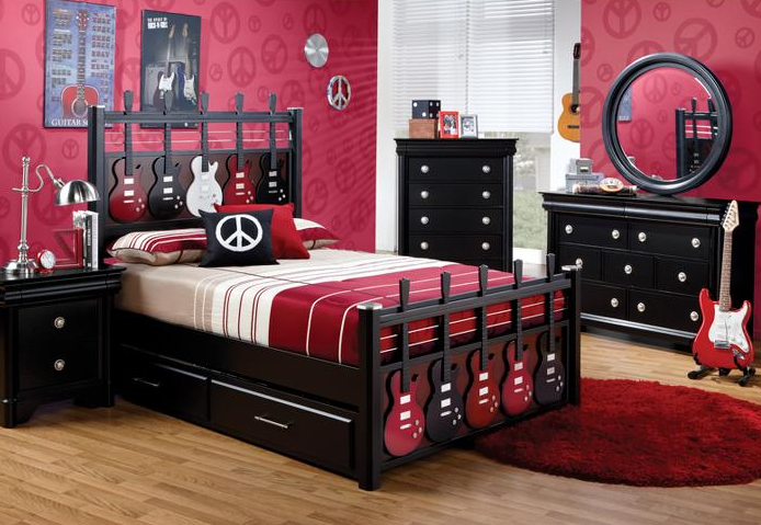 Kids furniture furniture for kids room teen rooms Rooms to go teens
