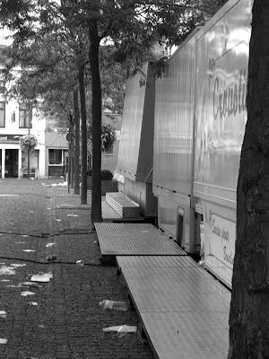 Fête foraine un lendemain de Ducasse Ath 2008 - Belgique - Anne-Sarine Limpens 2008
