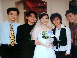 Priscilla's blessed wedding