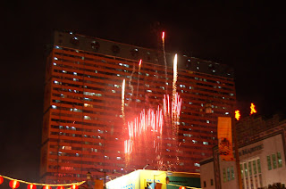Chinatown CNY 2008 Firework, by Felicia Kuang