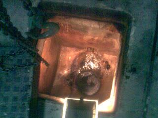 Inside a Manhole