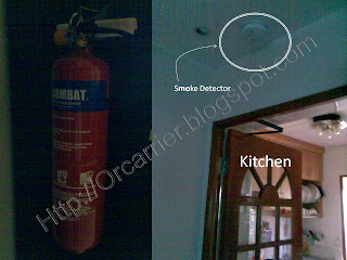 Fire Extinguisher ay home