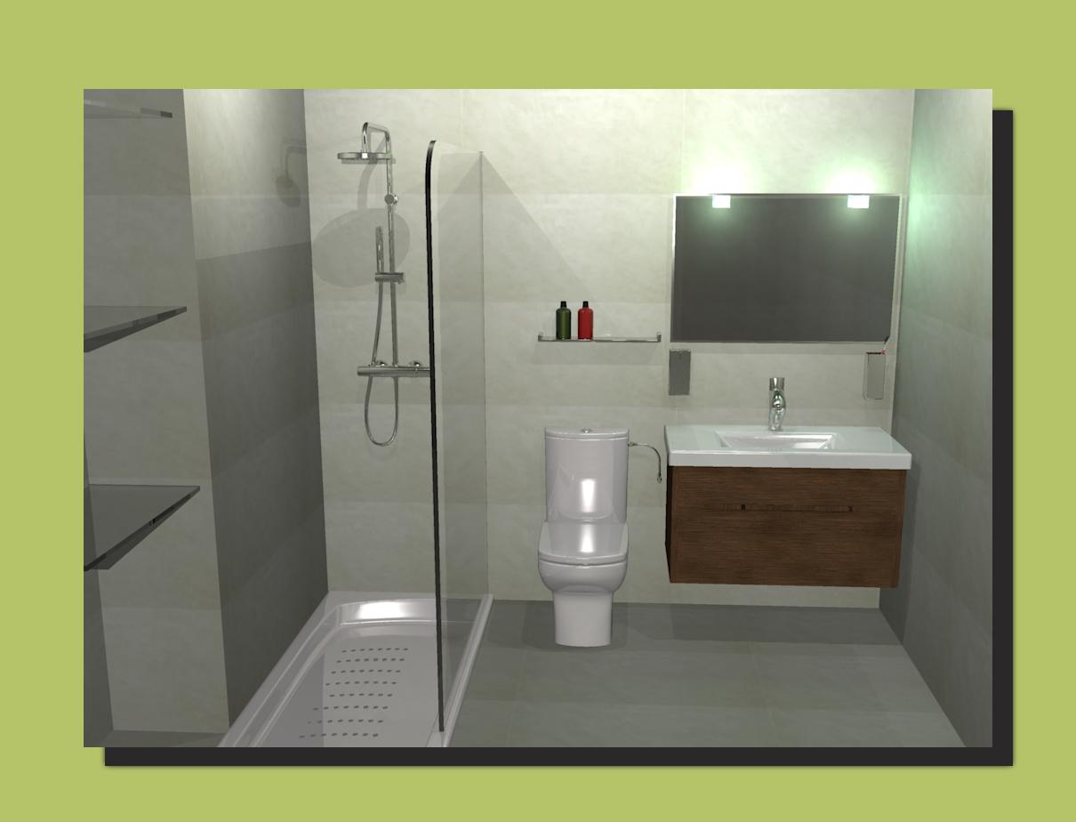 mi mundo en 3d my 3d world aseo con ducha en mirador de