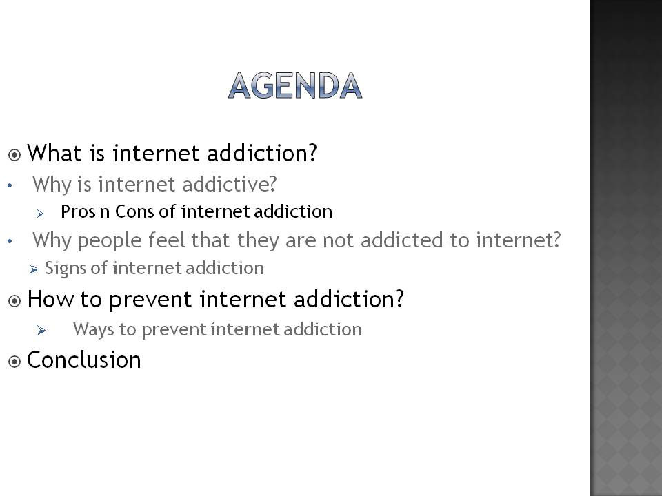how to prevent internet addiction Protect yourself with addiction prevention strategies call internet use or risky even though there's no fail-proof way to prevent addiction.