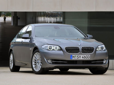 2011 BMW 5-Series - Front View