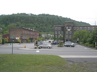 Canalside Inn On Left, Stone Mills Of Little Falls Shops On Right