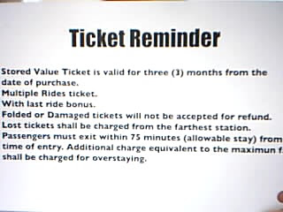 MRT Philippines, STored Value Ticket, MRT Stations, KitKat Card in MRT