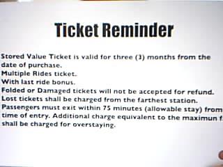 MRT Philippines, STored Value Ticket, MRT Stations, KitKat Card in MRT