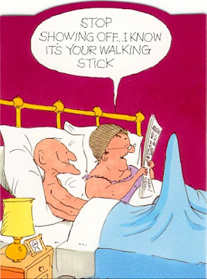 Funny Cartoons Aging