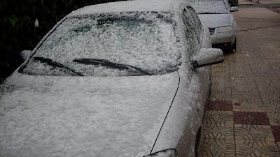 Nieve en Brenes. Foto 3