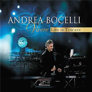 Cd Andrea Bocelli - Vivere - Live in Tuscany