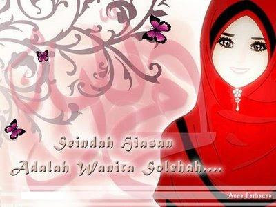 wallpaper muslimah sejati. wallpaper muslimah cartoon.