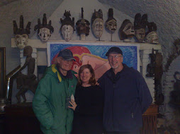 con il pittore  marco gilioli e la moglie nella