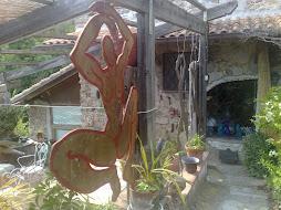 sculture di marco  glilioli ferro bronzo legno