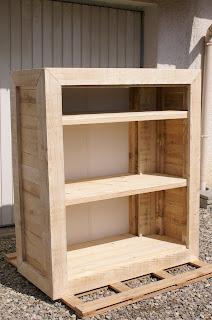 Fabriquer un meuble en bois de palette - Fabriquer meuble en bois ...