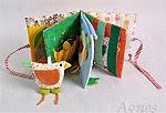 Textilní knížky autorské / Hand made books