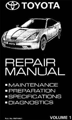 toyota celica repair manual 1 2zz fe 1999 toyota repair manuals rh toyota repair manuals blogspot com