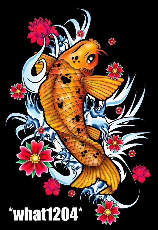 Tattoo Ikan Koi