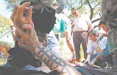 cual se tratase de Colombia, México o Chicago las mafias dejan huellas sangrientas