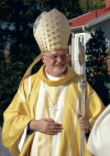 el obispo católico de Suecia Anders Arborelius