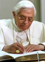 en la sede permanente de Naciones Unidas el Papa firma