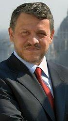 el rey abdullah de jordania que recibió al Papa