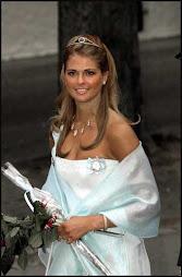 la princesa madelaine estará a menudo en los actos de la Unión Europea