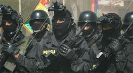 diversas unidades de la policía boliviana contra la droga