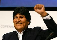 el mundo entero va conociendo el carácter totalmente conflictivo de Evo Morales