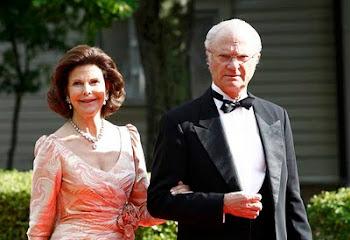 Silvia y Carlos Gustavo reciben cientos de huéspedes por el matrimonio de Victoria