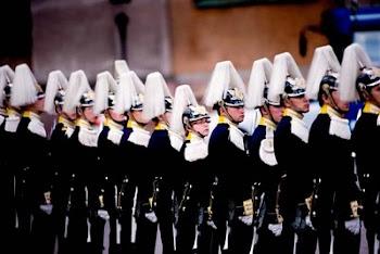 uniformes, regimientos, 15 aviones sobrevolando en formación, barcos de guerra en la Boda Real
