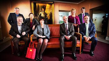 """el fotógrafo quizo tomar una foto """"de familia"""" a los líderes políticos"""