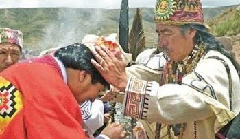 """ante todo el mundo se desdibuja la imagen del """"líder espiritual"""""""