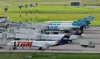 varios de los aeropuertos en uso de Bolivia no pudieron operar por la humareda