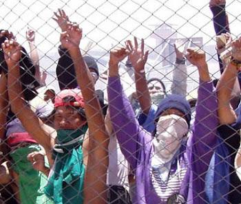 también los presos de la cárcel potosina 180 en total están en huelga de hambre