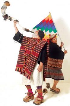 alegoría de la entrada autóctona en la festividad de Urkupiña en Quillacollo
