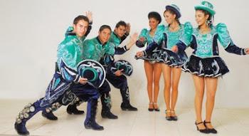 el baile de los caporales es uno de los vistosos y modernos