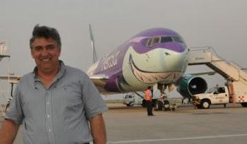 avion que cubrirá rutas Bolivia Europa y Estados Unidos de Aerosur