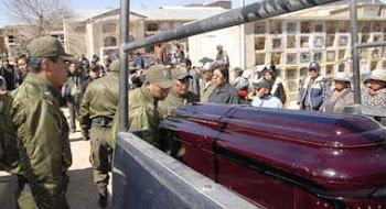por fin aparece una noticia sobre los cuatro policías asesinados en Uncía
