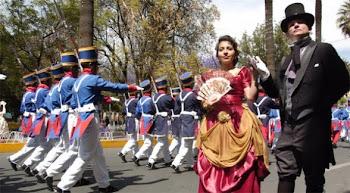 empezaron a pleno los festejos por el bicentenario de Cochabamba
