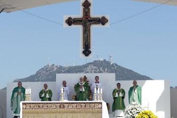 la cuna de la maffia siciliana está en Palermo visitada hoy por Benedicto XVI