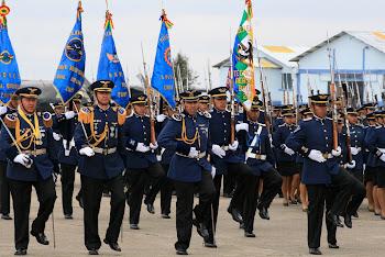 se puede observar falta de marcialidad en la fuerza aérea